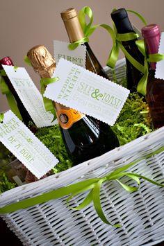 gift: wine basket