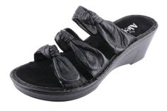 Alegria Lilia Black - on closeout for $69! | Alegria Shoe Shop #AlegriaShoes #Spring2014 #Sandals #closeouts