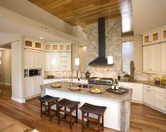 Kitchen Backsplash Brick Design