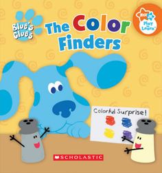 Printable Blue's Clues story book, great for beginners! #NickJr