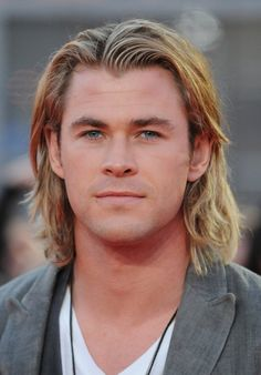 Chris Hemsworth....can't wait for Snow White and the Huntsman...