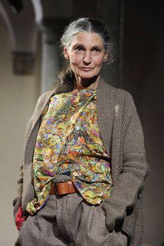 Benedetta Barzini, 69