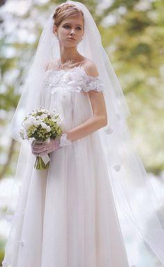 Mari es enceintes pregnant bride on pinterest 21 pins for How to become a wedding dress model