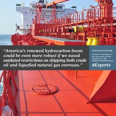 """America """"should rescind the ban on crude-oil exports."""""""