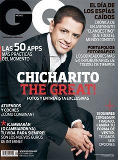 Octubre en GQ con Chicharito