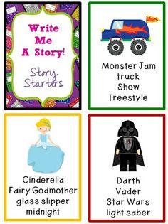 Write me a story! Story Starters