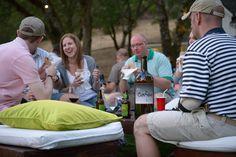 wine moment, wine parti, person wine, food, friend
