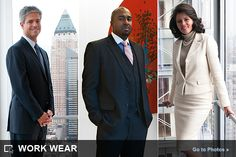 Work wear examples, from a law firm to a publishing company
