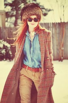 jean, jacket, ginger, winter looks, robert redford, sea, redhead, winter chic, hat