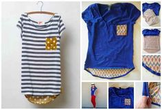 Pattern Pop Tee   50 DIY Anthropologie Hacks For Every Facet Of Your Life