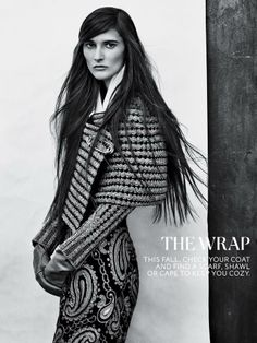 The New York Times Style Magazine - No. 1: The decorated jacket. No. 2: The wrap. No. 3: The new suit - Marie Piovesan