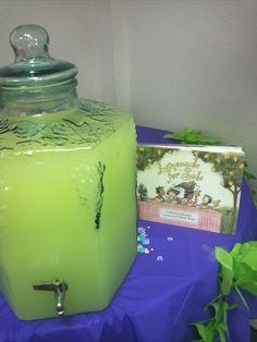 Book Themed Baby Shower - Lemonade  For Sale - Lemonade