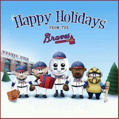 Braves Christmas.
