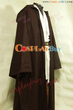 Star Wars Kenobi Jedi Cosplay Costume  - great bargain for an entire Jedi costume