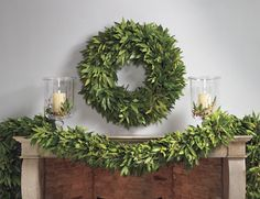 Bay Leaf Wreath & Garland from Williams-Sonoma | House & Home