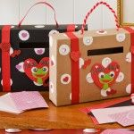 Valentine's Day Craft - Cereal Box Valentine Holder