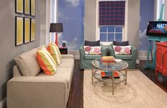 NY Living Room Makeover by Mr. Goodwill Hunting on the Nate Berkus Show.