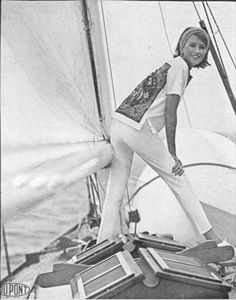 histori, young model, beauti 1960s, style, fashion models, beauti icon, martha stewart, boat, young martha