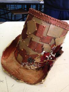 Teaching wearable art - hats