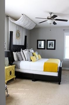 bedroom decorating ideas gray - Google Search