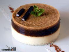 Receta de Tarta fría de yogur y café