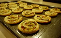 Dairy Free Spinach and Bacon Pinwheels | food not fear