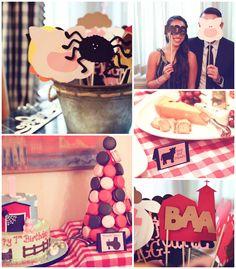 Charlotte's Web Farm Party with Such Cute Ideas via Kara's Party Ideas | KarasPartyIdeas.com #FarmParty #CharlottesWeb #PartyIdeas #PartySupplies