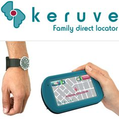 GPS built in watch makes it less noticeable, yet helpful for families of patients with Alzheimers.