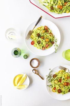 zuchinni noodle recipes, zucchini pasta, pistachio pesto, chicken noodle soups, baker royal