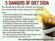 sodas, danger, healthwellnessessenti oil, healthi thought, diet idea