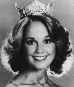 Susan Perkins (Ohio)    Susan graduated from Miami University in Oxford, Ohio in 1976. After graduation she worked as a legislative intern for the Ohio State Senate. In June of 1977 she was crowned Miss Ohio and then in September she became Miss America. Following that year she worked as a spokesperson, professional singer in New York and then a television reporter for the ABC affiliate in San Francisco.   She appeared on five Miss America national telecasts and has emceed numerous state and local Miss America pageants.    In the spring of 2009, she traveled to Baghdad with Operation Iraqi Children and has been a volunteer for World Team Sports, an organization that assists disabled civilian and military individuals, for several years.