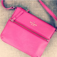 Cute Kate Spade pink crossbody bag