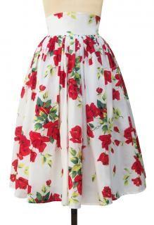 Trashy Diva Gathered Skirt | Vintage Inspired Skirt