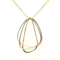 Wing Trio Necklace, $64, now featured on Fab.