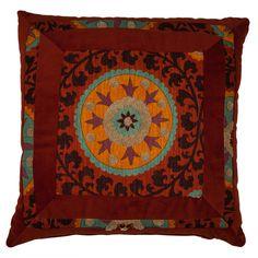 pillowconstruct materi, boho chic, pillow talk, inspir event, accent pillows, joss, global inspir, rust, nadia pillow