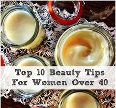 Beauty Tips For Women Over 40  Not me... But some of you guys?