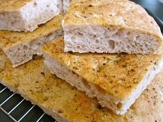 No-knead Focaccia. This recipe utilizes an overnight fermentation which gives it an incredible flavor.