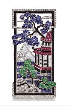 Brooch Van Cleef  Arpels, 1924 Sotheby's