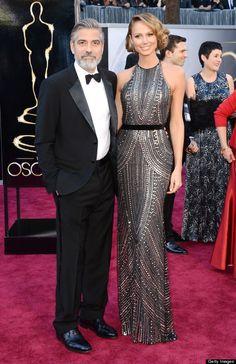 George Clooney & Stacy Keible -   Oscar 2013, LA