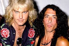 Robbin Crosby - RIP - and Stephen Pearcy (Ratt)