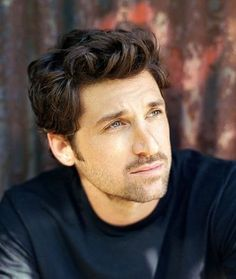 Patrick Dempsey...and his hair.  :)