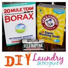 homemad laundri, detergents, clean, crochet, homemade laundry detergent, diy homemad, powder deterg, homemade laundry powder, laundri powder
