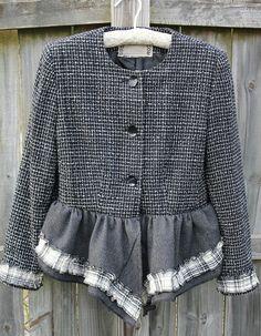 recycl, upcycl cloth, idea cloth, cloth idea, refashion jacket