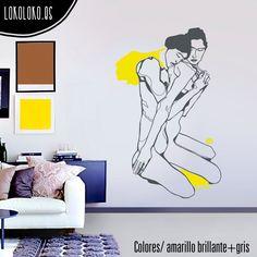 #Vinilodecorativo inspirado en #EgonSchiele / #Wallsticker inspired by Egon Schiele