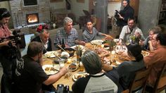 Anthony Bourdain sits down for a family-style dinner at Green Dirt Farm in Kansas City.
