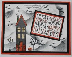 Halloween Holiday Home Stampin' Up!