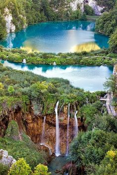 Plitvice Lakes Vertical, South Europe