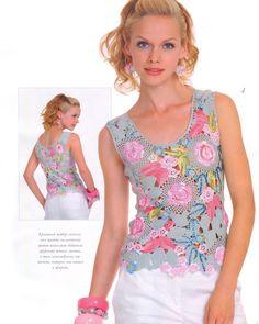 CROCHETANDO COM SONIA: blusas