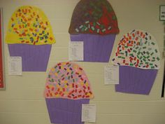 100th Day cupcakes Kinder Doodles