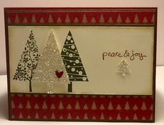 Christmas Card www.stampingwithlinda.com Check out my Stamp of the Month Kit Program Linda Bauwin – CARD-iologist Helping you create cards from the heart.